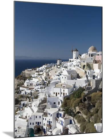 Oia, Santorini, Cyclades, Greek Islands, Greece, Europe--Mounted Photographic Print