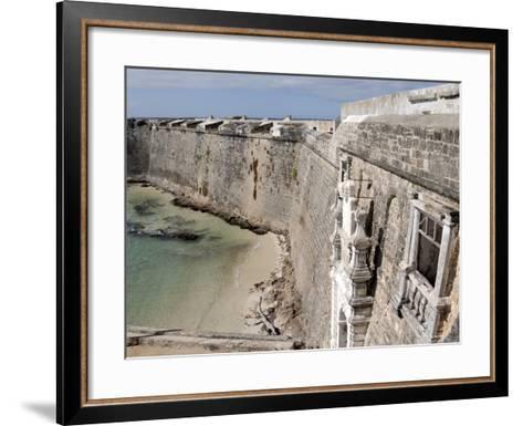 San Sebastian Fort Built in 1558, UNESCO World Heritage Site, Mozambique Island, Mozambique, Africa--Framed Art Print