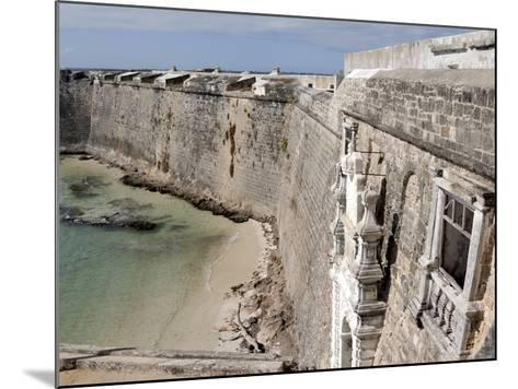 San Sebastian Fort Built in 1558, UNESCO World Heritage Site, Mozambique Island, Mozambique, Africa--Mounted Photographic Print