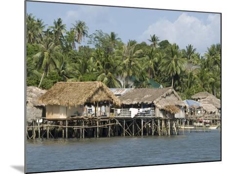 Fishermen's Stilt Houses, Pilar, Bicol, Southern Luzon, Philippines, Southeast Asia, Asia--Mounted Photographic Print
