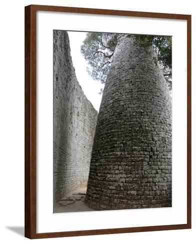 Great Zimbabwe, UNESCO World Heritage Site, Zimbabwe, Africa--Framed Art Print