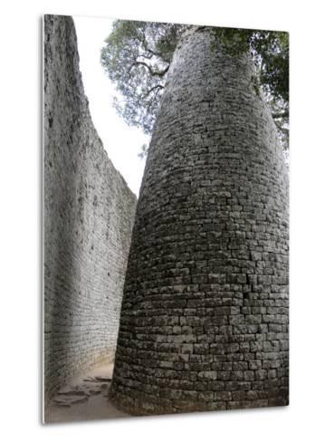 Great Zimbabwe, UNESCO World Heritage Site, Zimbabwe, Africa--Metal Print