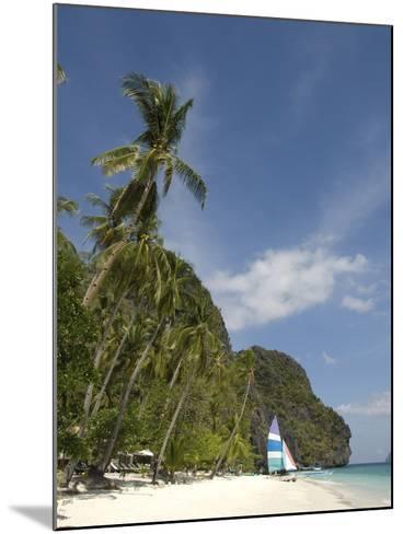 Entalula Island, Bacuit Bay, Palawan, Philippines, Southeast Asia, Asia--Mounted Photographic Print