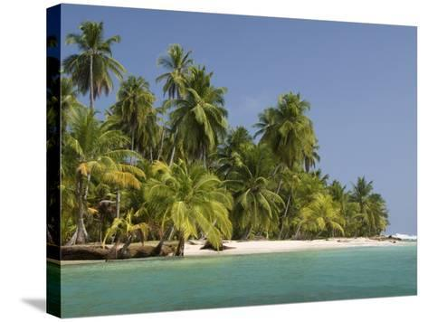 Diadup Island, San Blas Islands (Kuna Yala Islands), Panama, Central America--Stretched Canvas Print
