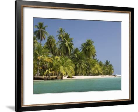 Diadup Island, San Blas Islands (Kuna Yala Islands), Panama, Central America--Framed Art Print