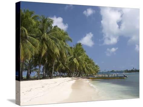 Dubpur Island, San Blas Islands (Kuna Yala Islands), Panama, Central America--Stretched Canvas Print