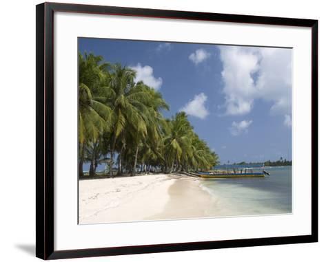 Dubpur Island, San Blas Islands (Kuna Yala Islands), Panama, Central America--Framed Art Print