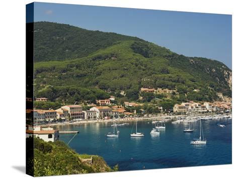 Marciana Marina, Isola D'Elba, Elba, Tuscany, Italy, Europe--Stretched Canvas Print