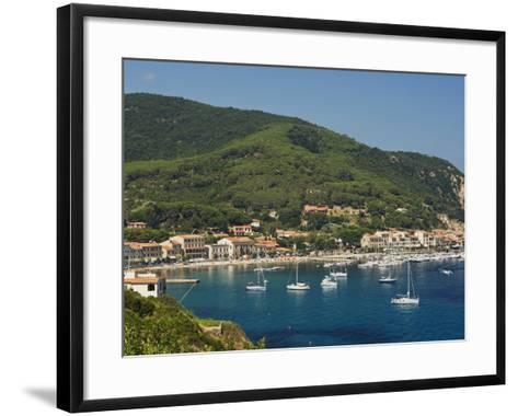 Marciana Marina, Isola D'Elba, Elba, Tuscany, Italy, Europe--Framed Art Print
