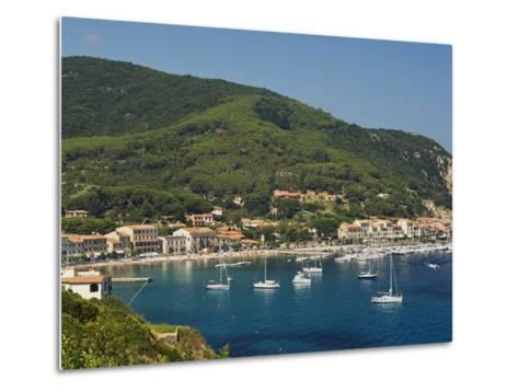Marciana Marina, Isola D'Elba, Elba, Tuscany, Italy, Europe--Metal Print