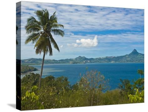 View Over the Island of Grand Terre, French Departmental Collectivity of Mayotte, Indian Ocean--Stretched Canvas Print