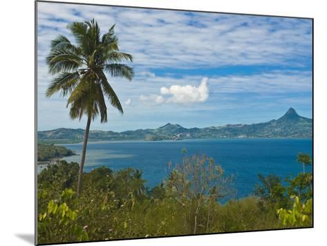 View Over the Island of Grand Terre, French Departmental Collectivity of Mayotte, Indian Ocean--Mounted Photographic Print