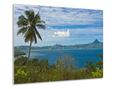 View Over the Island of Grand Terre, French Departmental Collectivity of Mayotte, Indian Ocean--Metal Print