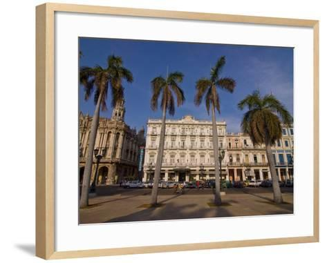 Old Colonial Houses in the Center of Havana, Cuba, West Indies, Caribbean, Central America--Framed Art Print