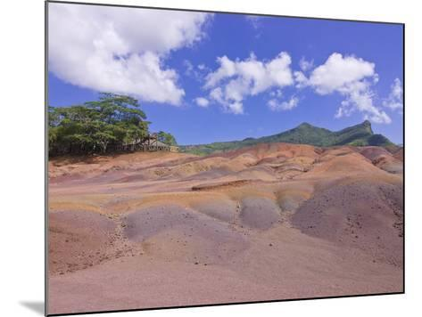 Chamarel Coloured Earths, Mauritius, Indian Ocean, Africa--Mounted Photographic Print