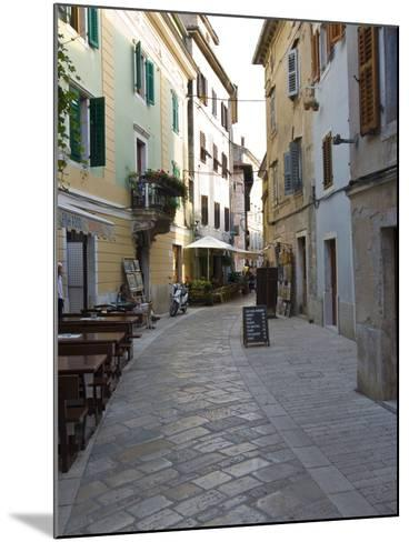 Little Alley in Porec, Istria, Croatia, Europe--Mounted Photographic Print