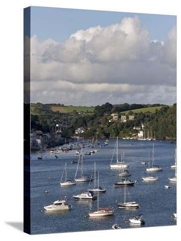 Fowey Harbour and Estuary, Cornwall, England, Uk--Stretched Canvas Print