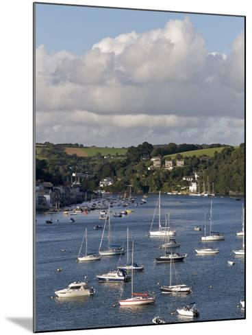 Fowey Harbour and Estuary, Cornwall, England, Uk--Mounted Photographic Print