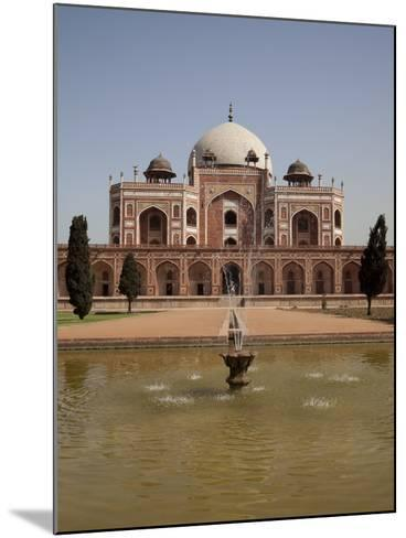 Fountain, Humayun's Tomb, Delhi, India, Asia--Mounted Photographic Print