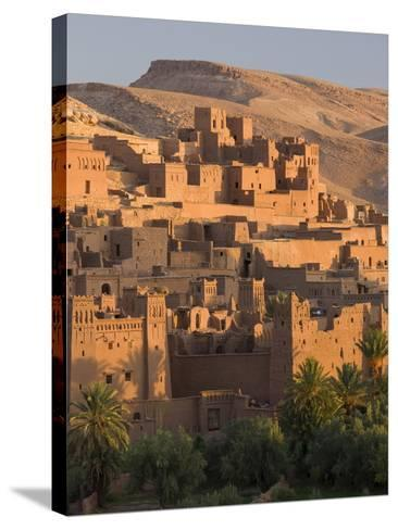 Kasbah Ait Benhaddou, Backdrop to Many Hollywood Epic Films, Near Ouarzazate, Morocco--Stretched Canvas Print