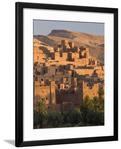 Kasbah Ait Benhaddou, Backdrop to Many Hollywood Epic Films, Near Ouarzazate, Morocco--Framed Art Print