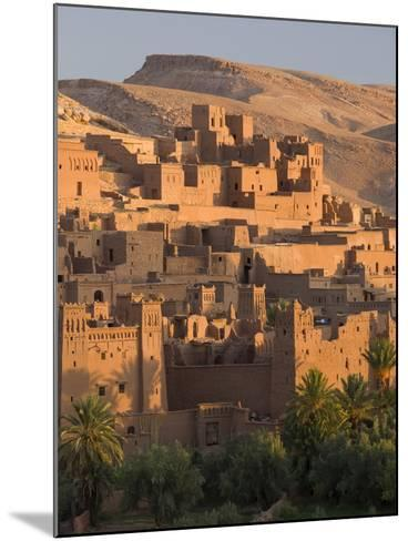 Kasbah Ait Benhaddou, Backdrop to Many Hollywood Epic Films, Near Ouarzazate, Morocco--Mounted Photographic Print