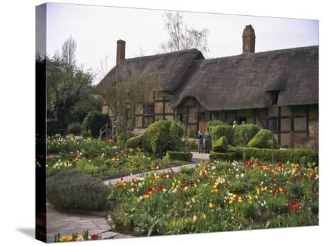 Anne Hathaway's Cottage, Birthplace and Childhood Home of Shakespeare's Future Wife, England--Stretched Canvas Print