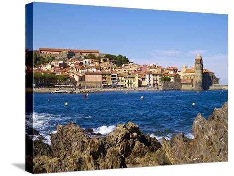 Collioure, Languedoc Roussillon, Cote Vermeille, France, Mediterranean, Europe--Stretched Canvas Print