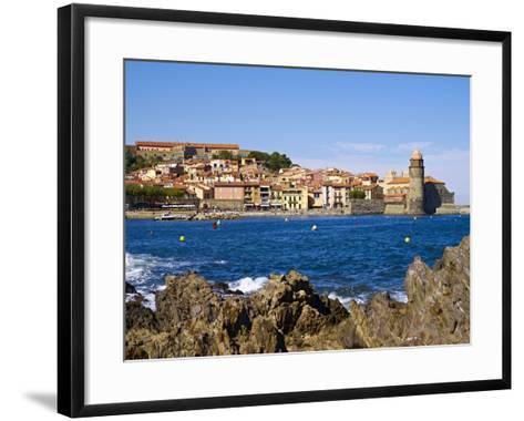 Collioure, Languedoc Roussillon, Cote Vermeille, France, Mediterranean, Europe--Framed Art Print