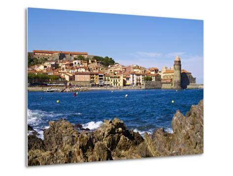 Collioure, Languedoc Roussillon, Cote Vermeille, France, Mediterranean, Europe--Metal Print