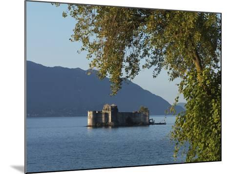 The Borromeo's Castles, Cannobio, Lake Maggiore, Italian Lakes, Piedmont, Italy, Europe--Mounted Photographic Print