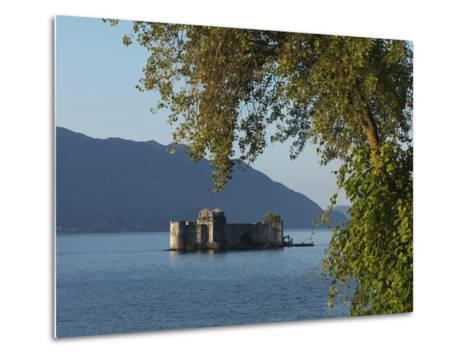 The Borromeo's Castles, Cannobio, Lake Maggiore, Italian Lakes, Piedmont, Italy, Europe--Metal Print