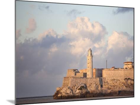 Faro Castilla Del Morro, the Old Fort at the Entrance to Havana Harbour, Havana, Cuba--Mounted Photographic Print
