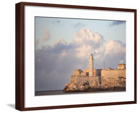Faro Castilla Del Morro, the Old Fort at the Entrance to Havana Harbour, Havana, Cuba--Framed Art Print