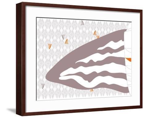 Floating Fins-Belen Mena-Framed Art Print