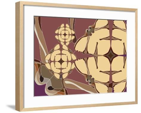 Flying Hibiscus Drops-Belen Mena-Framed Art Print