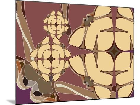 Flying Hibiscus Drops-Belen Mena-Mounted Giclee Print