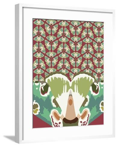 Kaleidoscopic Gael-Belen Mena-Framed Art Print