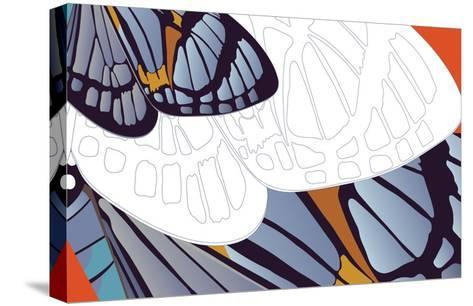 Shadowed Wing of Iris-Belen Mena-Stretched Canvas Print