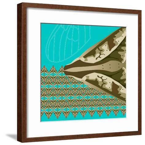 Turquoise Kai-Belen Mena-Framed Art Print