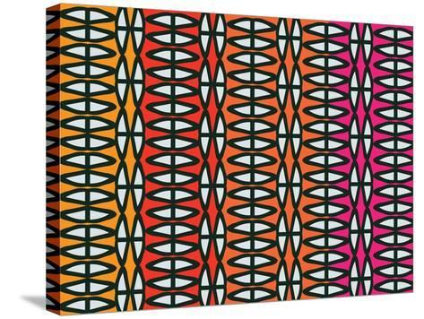 Colorful Native Coco-Belen Mena-Stretched Canvas Print