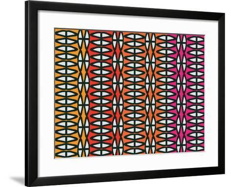 Colorful Native Coco-Belen Mena-Framed Art Print