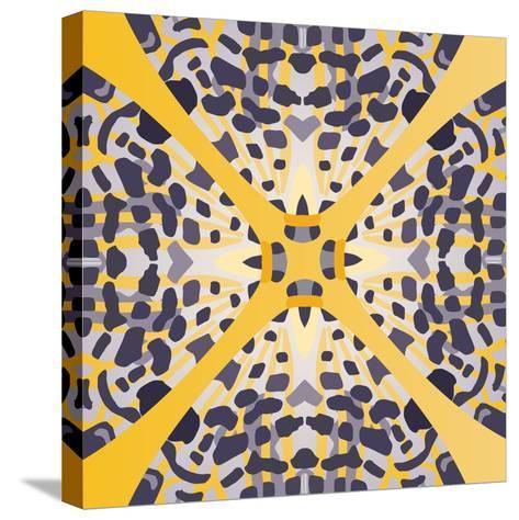 Lila Sun-Belen Mena-Stretched Canvas Print