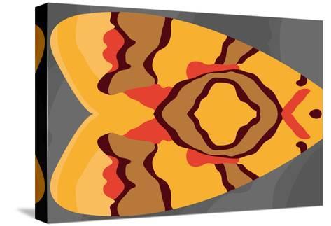 Bright Tiki Moth-Belen Mena-Stretched Canvas Print