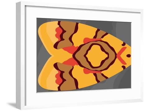 Bright Tiki Moth-Belen Mena-Framed Art Print