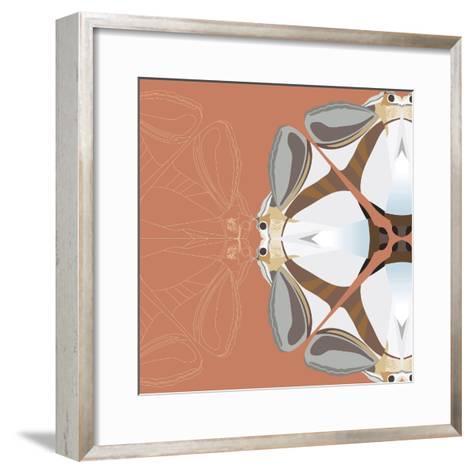 Moth Meditation-Belen Mena-Framed Art Print