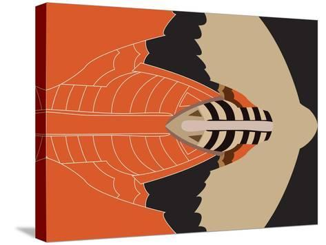 Mechanical Bat-Belen Mena-Stretched Canvas Print