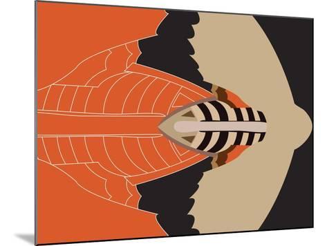 Mechanical Bat-Belen Mena-Mounted Giclee Print
