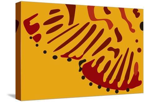 Nina Markings-Belen Mena-Stretched Canvas Print