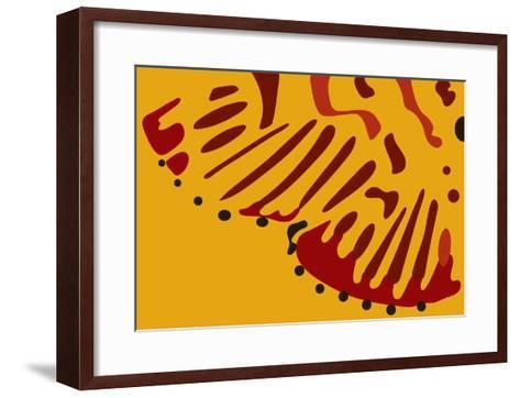 Nina Markings-Belen Mena-Framed Art Print